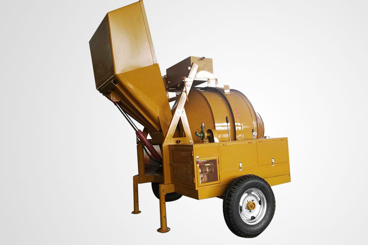 Diesel Engine Drived Concrete Mixer