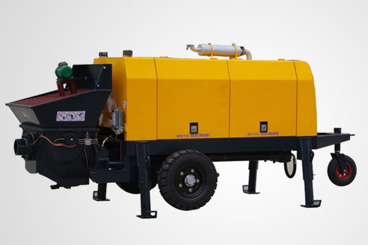Diesel Engine Drived Concrete Pump