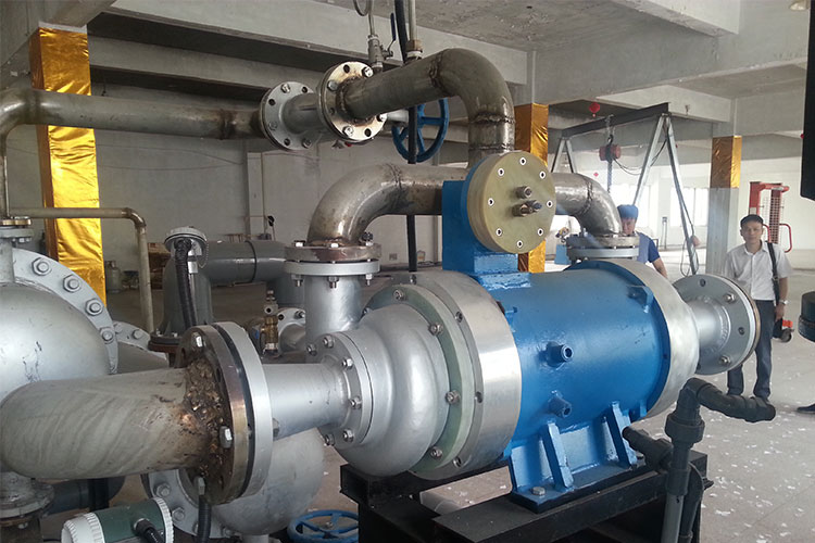 ORC exhaust steam turbine expander electricity generator